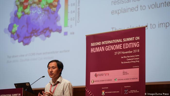 China Forschung von He Jiankui (Imago/Zuma Press)