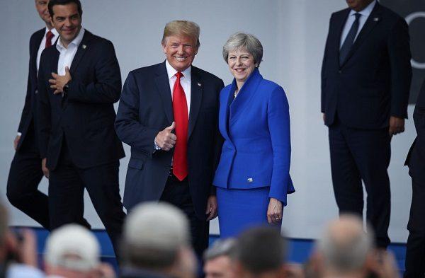 川普承诺美英贸易协议 但有这个条件