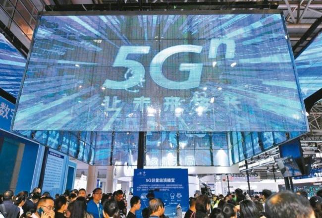 1张图看5G竞赛:中国5G商用提前抢占制高点