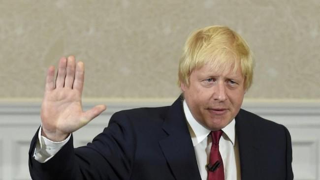 特雷莎梅辞职,前伦敦市长约翰逊弹冠