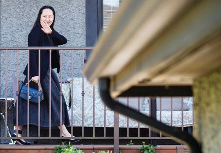 中驻加使馆再促释放孟晚舟 压制华为是典型霸凌