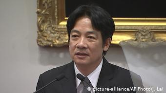 """台湾民进党总统候选人进入""""对决""""模式"""