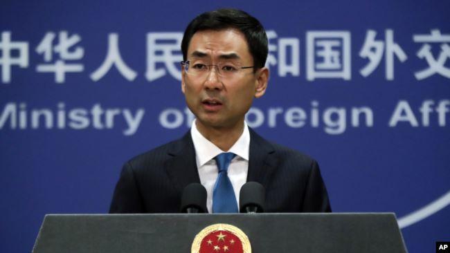 中国外交部发言人耿爽 (资料照片)