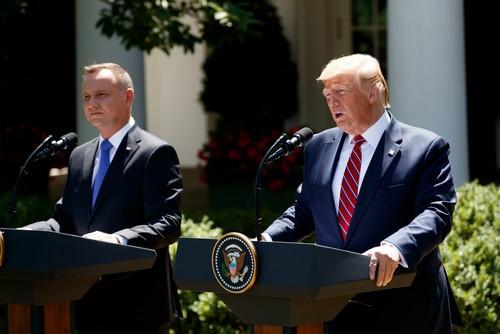波兰总统访美,却被川普泼冷水