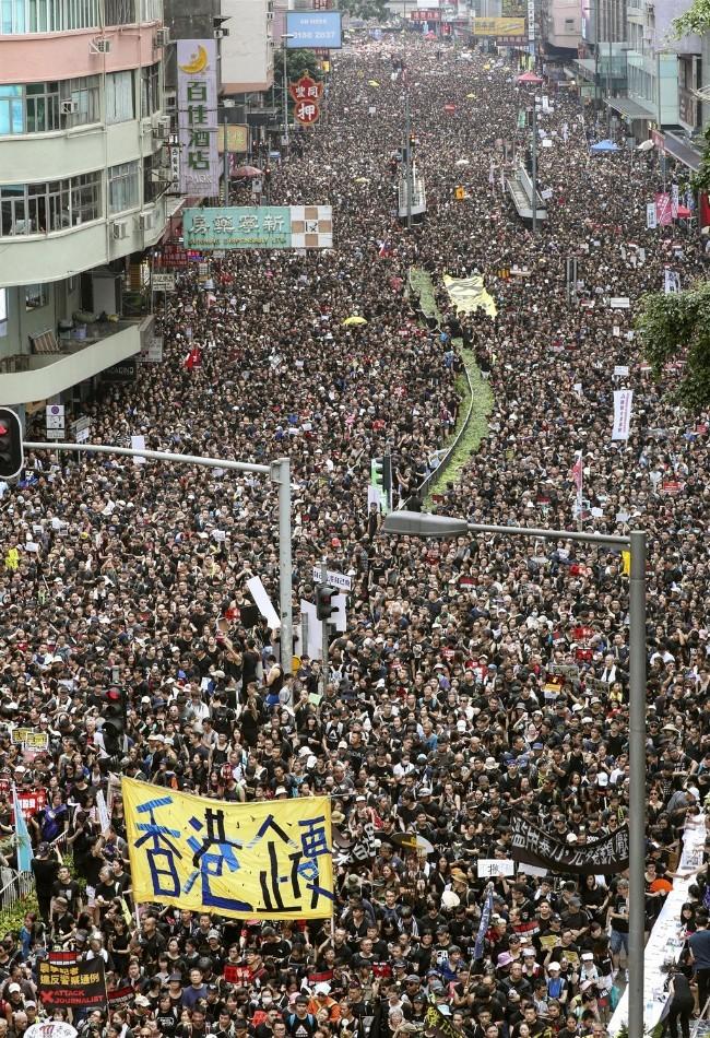 6月16日香港一百多万人第二次反引渡法案大游行.jpg