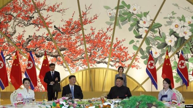 朝鲜官媒称中朝领导人在重大议题上达成共识