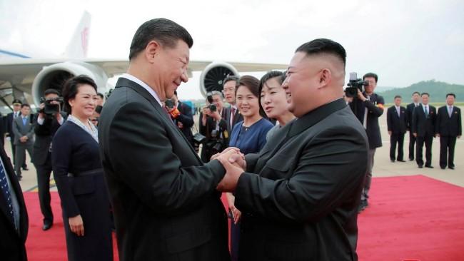 金正恩警告中国应铭记日本侵华引猜测