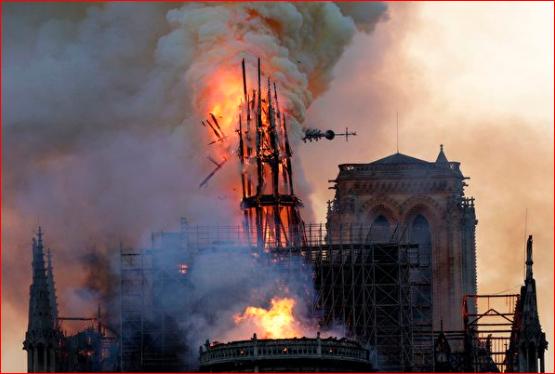 巴黎圣母院大火无迹象涉及刑事罪名