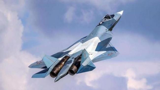 俄罗斯推出苏凯57隐形战机 自嗨76架