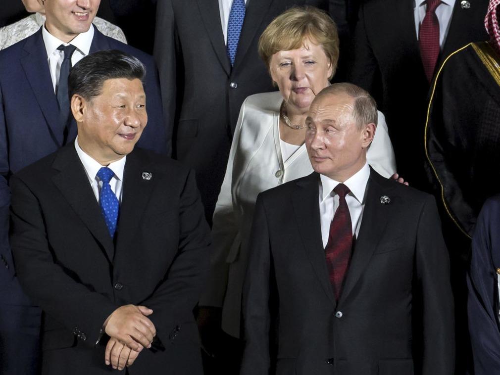 普京在G20期间曾交给习近平一封信