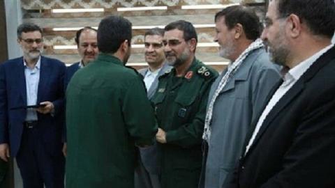 刺激美国!伊朗表彰击落美无人机革命卫队成员