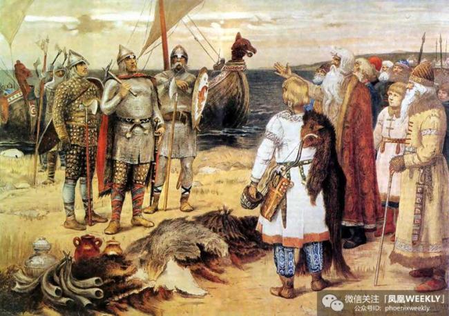 俄罗斯建国者是维京贵族