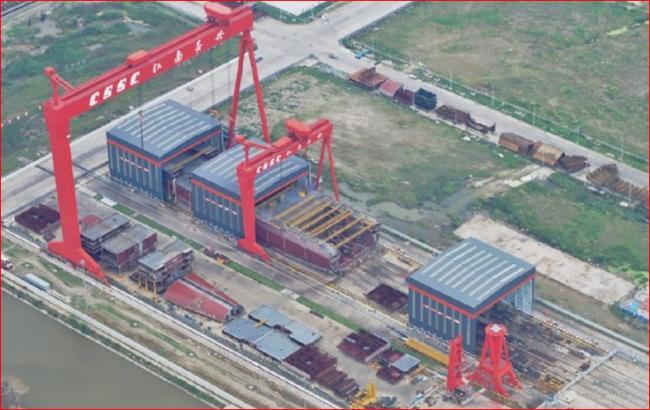 中国第三艘航母曝新进展 辽宁舰被指将另有所用