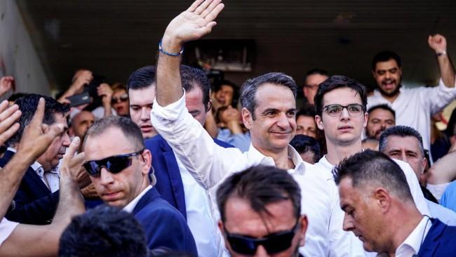 希腊大选或将变天 右翼在野党领先