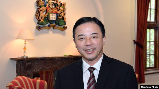 香港大学校长张翔 (香港大学网站)