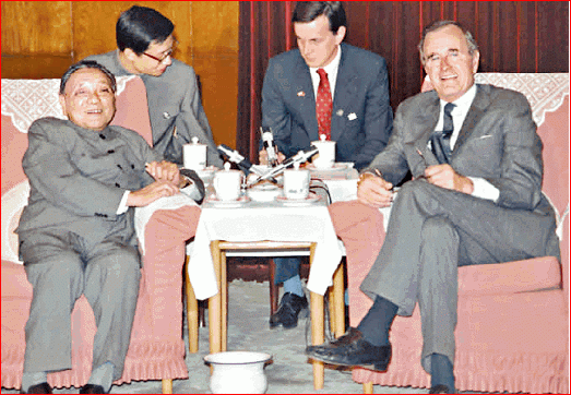 中美六四后密谈曝光 邓小平对老朋友布什没客气