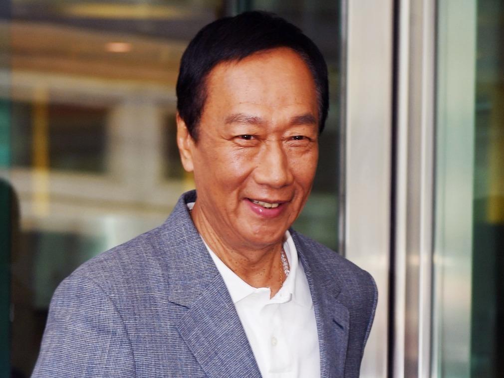 郭台铭发声明祝福韩国瑜 不提是否脱党参选
