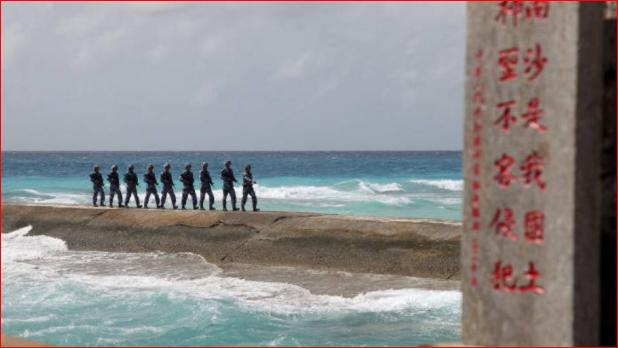 中越船只南海对峙已长达数周