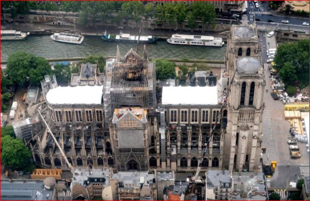 铅含量高10倍?巴黎圣母院周遭学校出状况