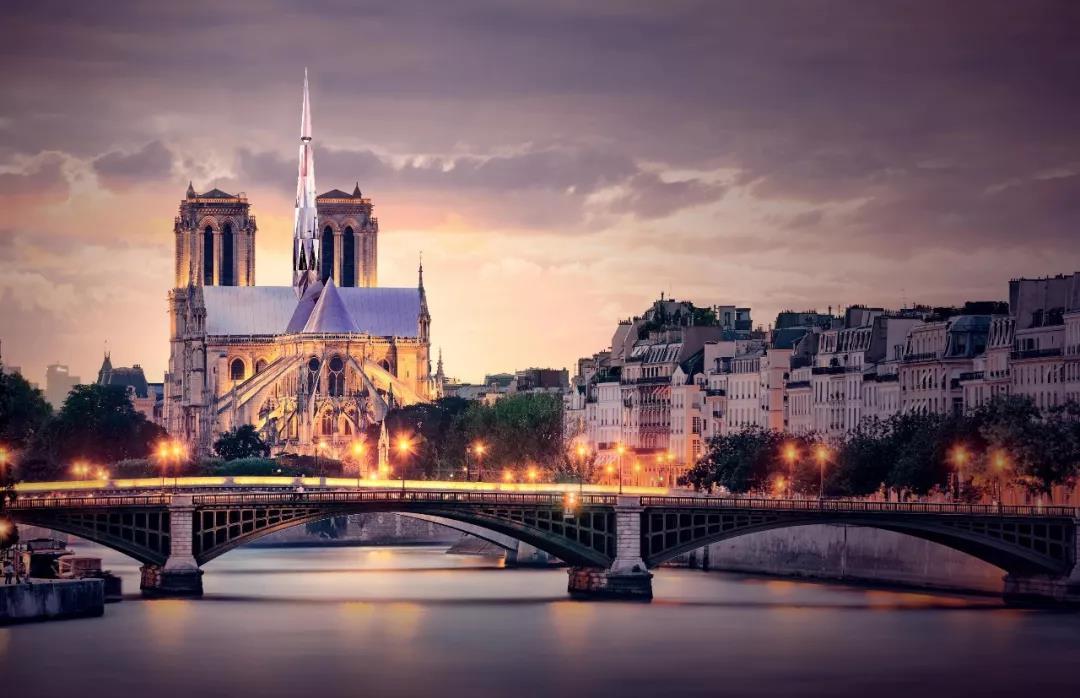 中国建筑师巴黎心跳方案在圣母院建筑竞赛中夺冠
