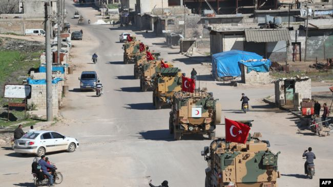 土耳其拉美国一起在叙利亚部署武装