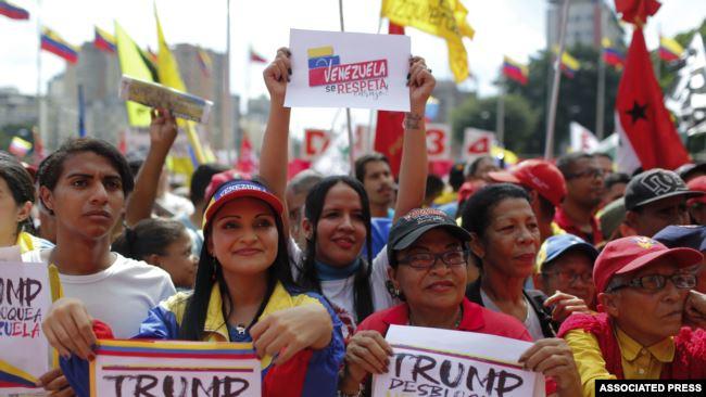 对美国的经济战 委内瑞拉总统马杜罗开腔了
