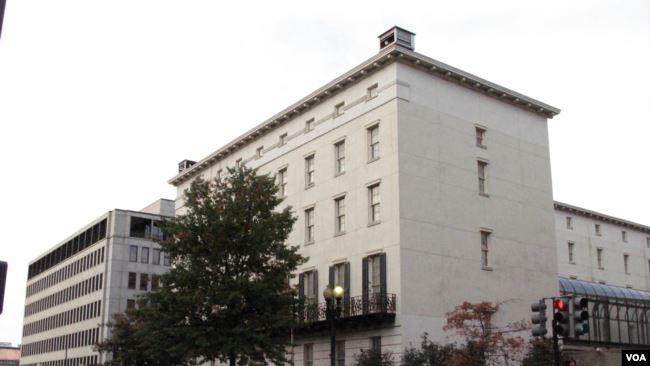 资料照:位于华盛顿美国贸易代表办公室