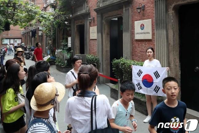 """韩国人不去日本去上海,韩国""""抗日圣地""""火了"""