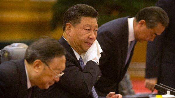 分析指,主管宣传的王沪宁是力主镇压的强硬派,而党内不少人则在坐等习近平做错事。