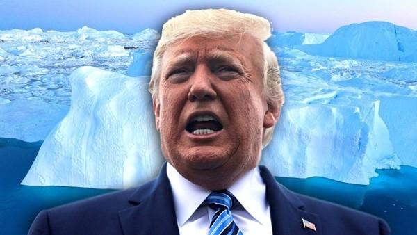 买格陵兰岛被拒 川普:买整个国家都没问题