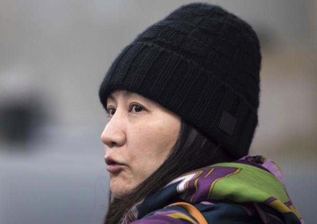 美国公布指控华为文件 孟晚舟案波及四银行