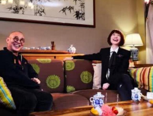 鲁豫采访问李连杰爷爷是谁 说了你也不敢播