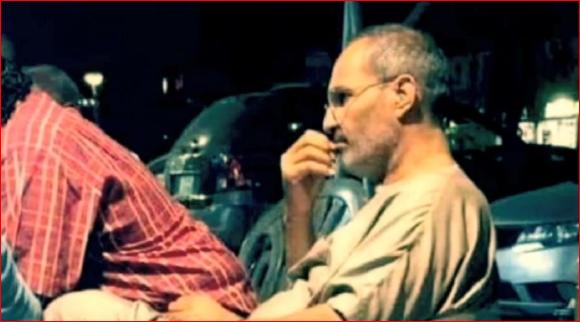 乔布斯还活着?网友拍到疑似乔布斯隐居埃及