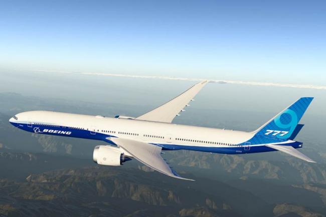 波音737MAX还在停飞 新机型777X测试时舱门爆炸