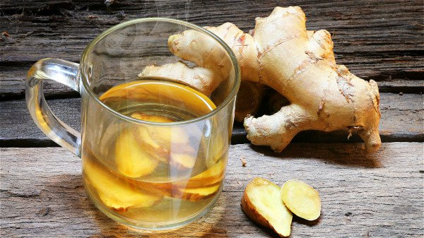 生姜有去湿散寒,治胃寒腹痛的功效。