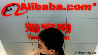 Alibaba Online Handelsriese China (Getty Images)