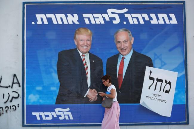 以色列总理大选失利 川普: 没联络