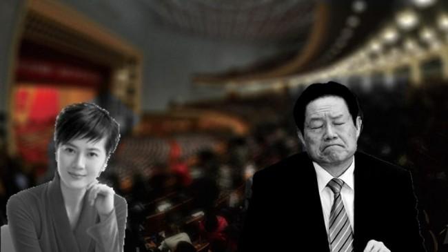 """女主播香港出书 揭与周永康的""""那些事"""""""