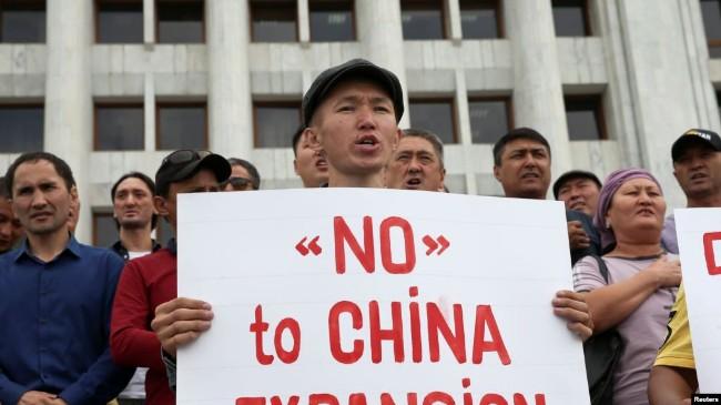一带一路遇阻 哈萨克斯坦爆发反中国示威