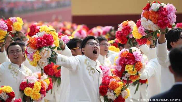 China Peking 70 Jahre (picture-alliance/dpa/M. Yongmin)