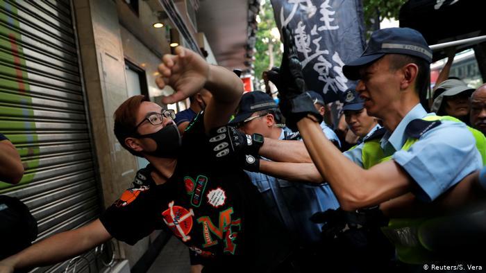 Hongkong 70 Jahre Volksrepublik China (Reuters/S. Vera)