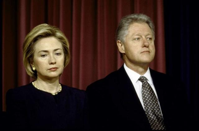 希拉里:平生最大胆的决定是与克林顿维持婚姻