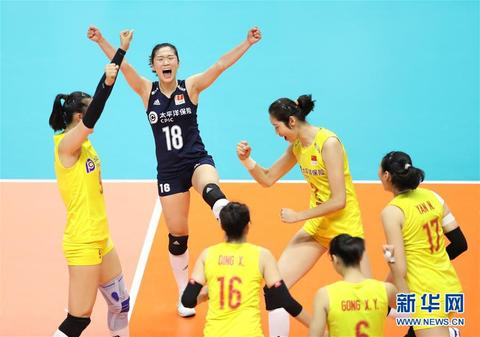 中国女排重返世界第一 东京奥运会将与美俄同组