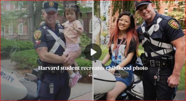 15年前旧照 哈佛华裔女孩的一段奇秒缘分