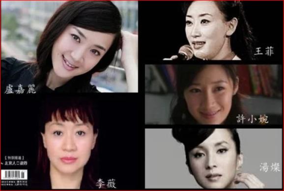 据说是中共官场迄今最厉害的四大情妇