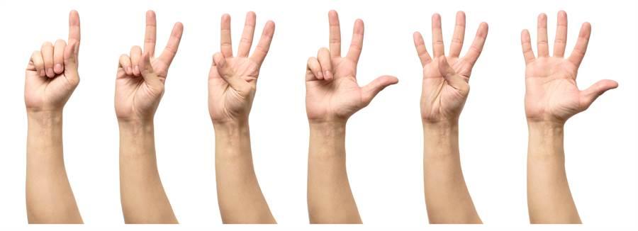 手势也是区分的依据之一(示意图/达志影像)