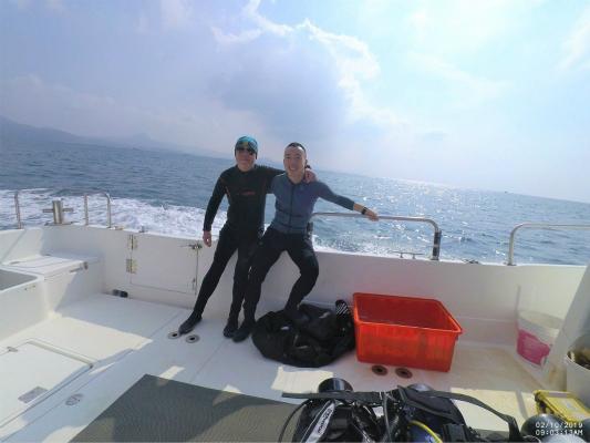 大陆游客在台湾潜水失踪 台海巡队搜寻6天未果