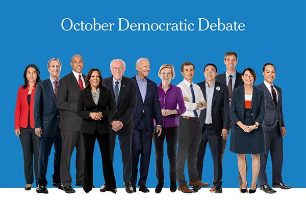 辩论第4场:4人或止步 华伦桑德斯向富人拔毛