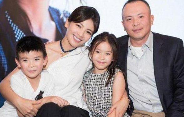 刘涛子女曝光近照 女儿越长越丑儿子也不像她
