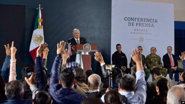 墨国抓毒枭王子引地区暴乱,川普致电支持总统